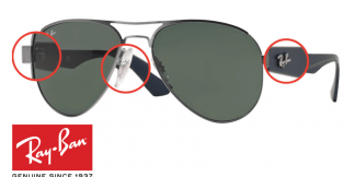 Original Ray-Ban 3523 Replacement Parts