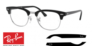 Original Eyeglasses Ray-Ban 5154 CLUBMASTER Replacement Arms-Temples