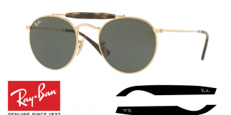 Original Ray-Ban 3747 Replacement Arms-Temples