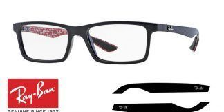Original Ray-Ban Eyeglasses 8901 Replacement Arms-Temples