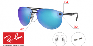 Original Ray-Ban 4293CH Replacement parts