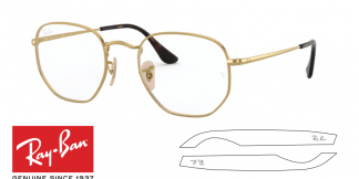 Original Ray-Ban Eyeglasses 6448 Replacement Arms-Temples
