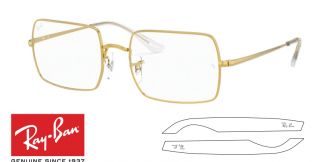 Original Ray-Ban Eyeglasses 1969V Replacement Arms-Temples