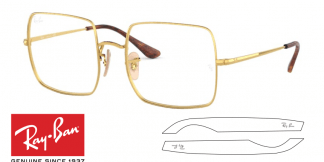 Original Ray-Ban Eyeglasses 1971V Replacement Arms-Temples