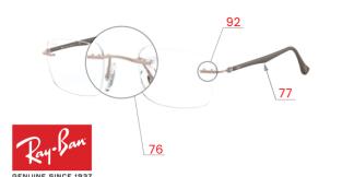 Original Ray-Ban 8725 Replacement Parts