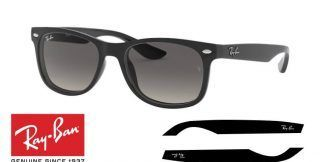 Original Ray-Ban Junior 9052S JUNIOR NEW WAYFARER Replacement Arms-Temples