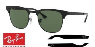 Original Ray-Ban 3716 Clubmaster Metal Replacement Arms-Temples