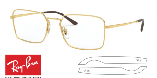 Original Ray-Ban Eyeglasses 6450 Replacement Arms-Temples