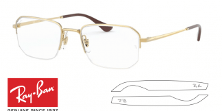 Original Ray-Ban Eyeglasses 6449 Replacement Arms-Temples