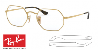 Original Ray-Ban Eyeglasses 6456 Replacement Arms-Temples