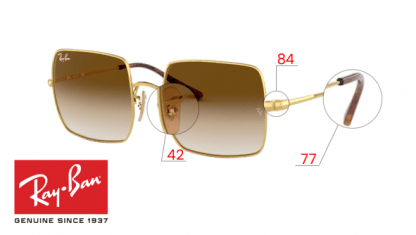Original Ray-Ban 1971 SQUARE Replacement Parts
