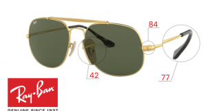 Original Ray-Ban 3561 THE GENERAL Replacement Parts