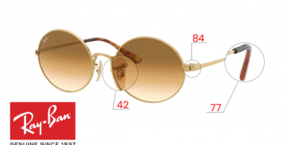 Original Ray-Ban 1970 Oval Replacement Parts