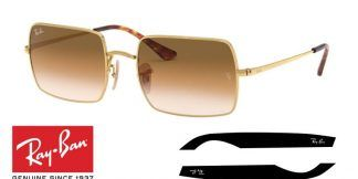 Ray-Ban 1969 RECTANGLE Original Replacement Arms-Temples
