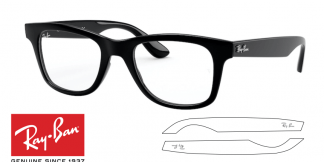 Ray-Ban Eyeglasses 4640V Original Replacement Arms-Temples