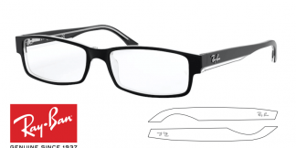 Ray-Ban Eyeglasses 5114 Original Replacement Arms-Temples