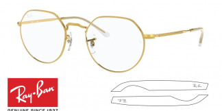 Ray-Ban Eyeglasses 6465 JACK Original Replacement Arms-Temples