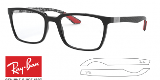 Ray-Ban Eyeglasses 8906 Original Replacement Arms-Temples