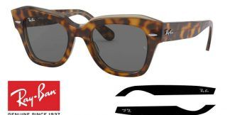 Ray-Ban 2186 STATE STREET Original Replacement Arms-Temples