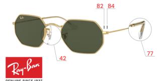 Ray-Ban 3556N OCTAGONAL Original Replacement Parts