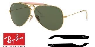 Ray-Ban  3138 SHOOTER Original Replacement Arms-Temples