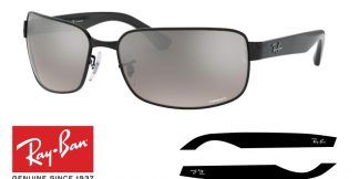 Ray-Ban 3566CH Original Replacement Arms-Temples
