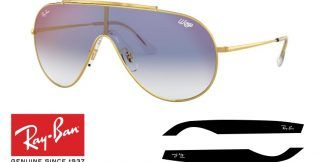 Ray-Ban 3597 WINGS Original Replacement Arms-Temples