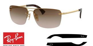 Ray-Ban 3607 Original Replacement Arms-Temples
