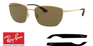 Ray-Ban 3653 Original Replacement Arms-Temples