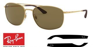 Ray-Ban 3654 Original Replacement Arms-Temples