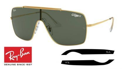 Ray-Ban 3697 WINGS II Original Replacement Arms-Temples