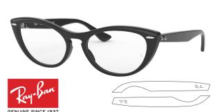 Ray-Ban Eyeglasses 4314V NINA Original Replacement Arms-Temples