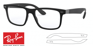 Ray-Ban Eyeglasses 7165 Original Replacement Arms-Temples