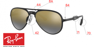 Ray-Ban 4320CH Original Replacement Parts
