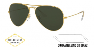 Ray-Ban 3025 Aviator Compatible Arms - Temples (NOT GENUINE) - HIGH QUALITY