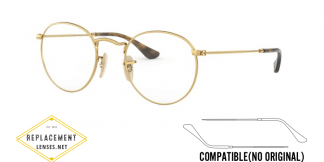 Ray-Ban 3447V Compatible Arms - Temples (NOT GENUINE) - HIGH QUALITY