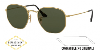 Ray-Ban 3548N Compatible Arms - Temples (NOT GENUINE) - HIGH QUALITY