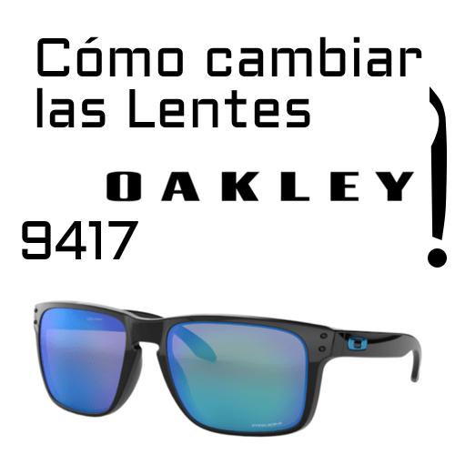 Cambio de lentes Oakley 9417 1