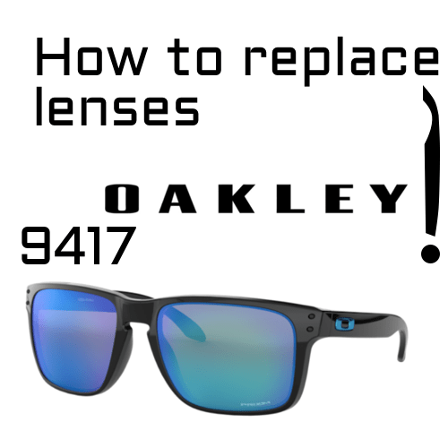 Lens replacement Oakley 9417 1