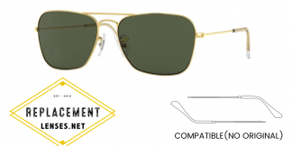 Ray-Ban 3136 CARAVAN Compatible Arms - Temples (NOT GENUINE) - HIGH QUALITY