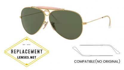Ray-Ban 3138 SHOOTER Compatible Arms - Temples (NOT GENUINE) - HIGH QUALITY