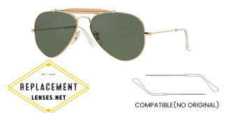 Ray-Ban 3407 OUTDOORSMAN II RAINBOW Compatible Arms - Temples (NOT GENUINE) - HIGH QUALITY