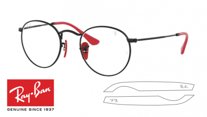 Ray-Ban 3447V-M Original Replacement Arms-Temples