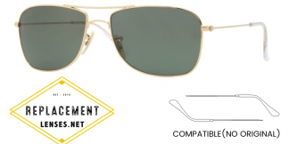 Ray-Ban 3477 Compatible Arms - Temples (NOT GENUINE) - HIGH QUALITY