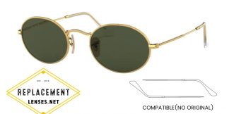 Ray-Ban 3547 Compatible Arms - Temples (NOT GENUINE) - HIGH QUALITY