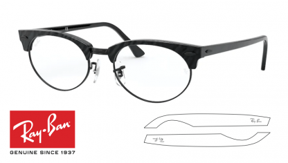 Ray-Ban 3946V CLUBMASTER OVAL Original Replacement Arms-Temples