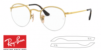 Ray-Ban 3947V ROUND GAZE Original Replacement Arms-Temples