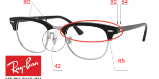 Ray-Ban 5154 CLUBMASTER Original Replacement Parts