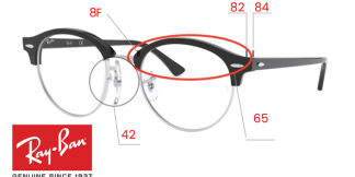 Ray-Ban 4246V CLUBROUND Original Replacement Parts