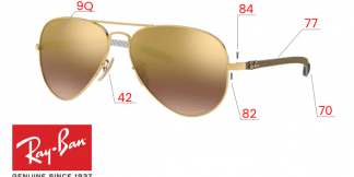Ray-Ban 8317CH Original Replacement Parts